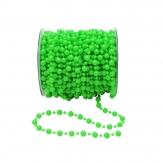Perlenband grün Ø8mm 15m