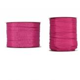 Plissee Taft pink in versch. Breiten 10m