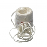 Raphia Band weiß 1,5cm200m 1Stk