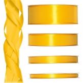 Satinband gelb 50m in verschiedenen Größen