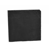 Schieferplatte 20x20cm dunkelgrau 2Stk