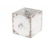 Schublade braun-weiß 12cm 1Stk