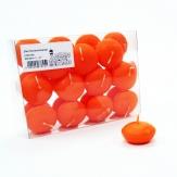 Schwimmkerzen 45mm mandarin 24Stk