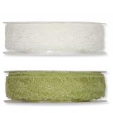 Spitzenband in zwei Farben 22mm15m