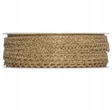Spitzenband gold 08mm10m