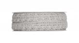 Spitzenband - Häkelspitze grau 10mm10m 1Stk