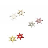 Sterne zum Streuen 4cm in verschiedenen Farben 72Stk