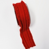Strickband elastisch rot 40mm2m(1Stk)