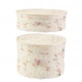 Wollband Emotion Lehner Wolle creme in 2 Größen