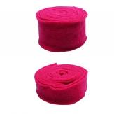Wollband Lehner Wolle pink in 2 Größen
