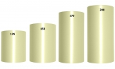 Acetat Kranzband grün-schilf in verschiedenen Breiten  25m auf der Rolle