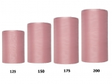 Kranzband altrosa in verschiedenen Breiten 25m auf der Rolle