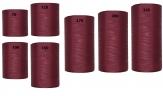 Kranzband rot - bordeaux-rot in verschiedenen Breiten  25m auf der Rolle