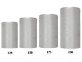 Kranzband hellgrau in verschiedenen Breiten  25m auf der Rolle