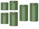 Kranzband grün - schilf in verschiedenen Breiten  25m auf der Rolle