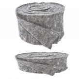 Wollband Lehner Wolle grau-hellgrau in 2 Größen