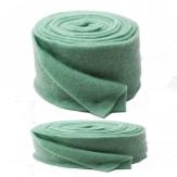 Wollvlies Topfband Lehner Wolle türkis-mint in 2 Größen