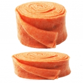 Wollband Lehner Wolle orange-pastellorange in 2 Größen