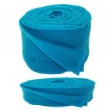 Wollband Lehner Wolle türkisblau in 2 Größen