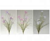 Wiesenblumen in vielen Farben 60cm 3Bund