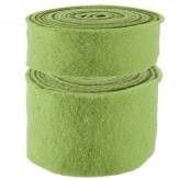 Wollband Lehner Wolle grün-blass grün in 2 Größen
