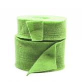 Wollband Lehner Wolle grün-hellgrün in 2 Größen
