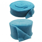 Wollband Lehner Wolle hellblau in 2 Größen