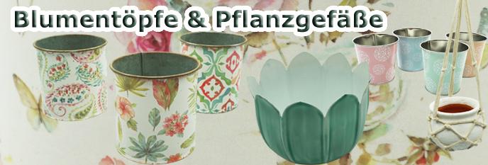Blumentöpfe & Pflanzgefäße