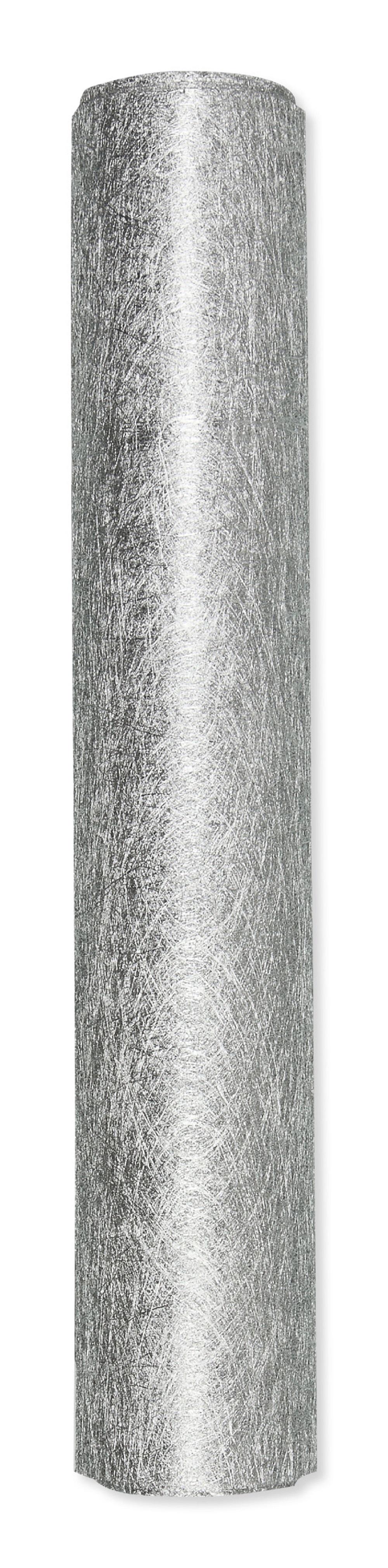 Deko vlies in silber 24cm4m 1stk g nstig kaufen for Deko in silber
