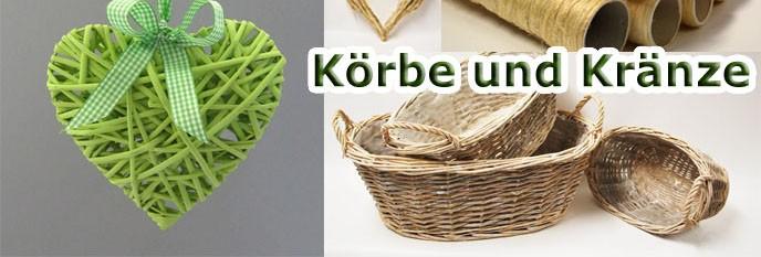 Korbwaren &  Weidenkränze
