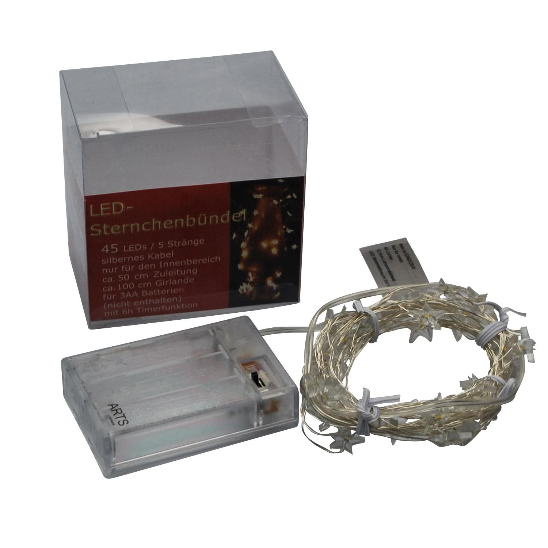 LED Sternchenbündel 45 Lichter 1m indoor 1Stk günstig kaufen