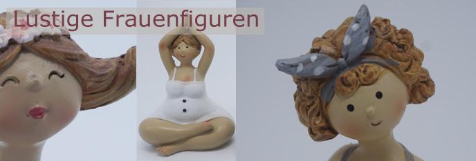 Lustige Keramikfiguren