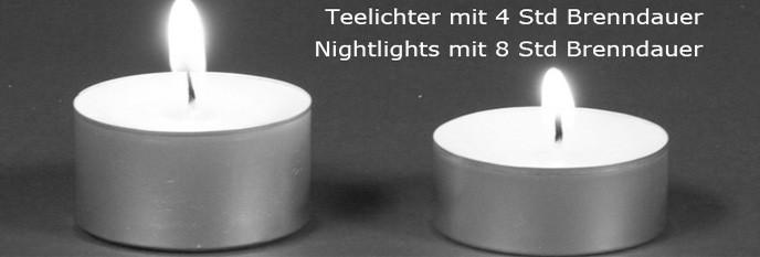 Teelichter & Teelichthalter